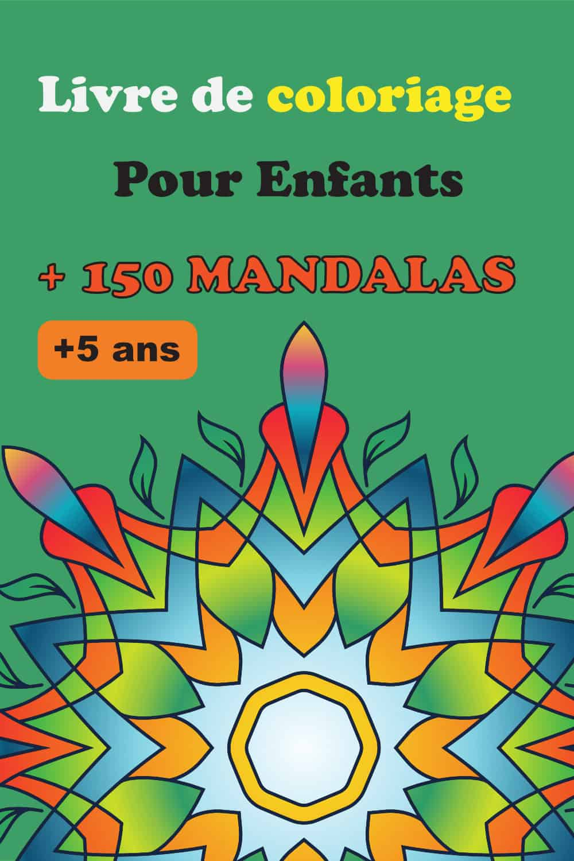Livre Mandala de coloriage pour enfants Tome 2